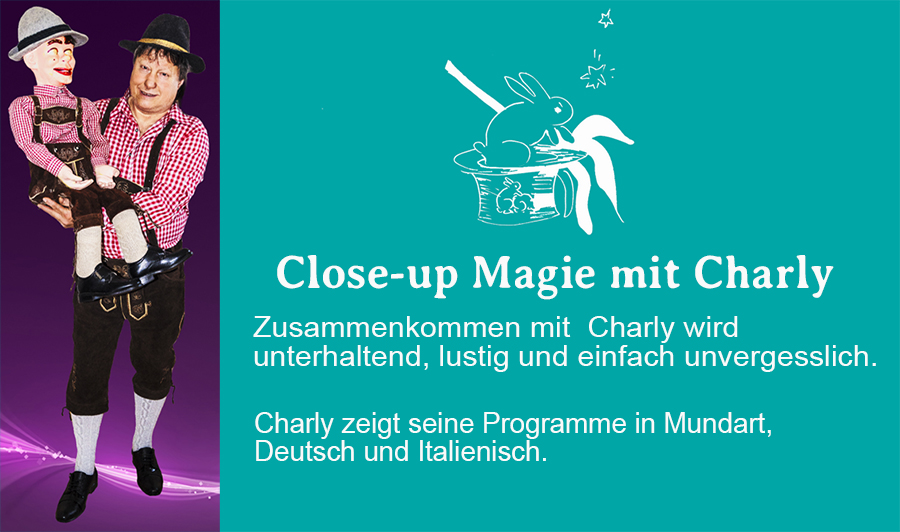 Close-up Magie mit Charly Rinner